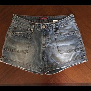 Union bay size 11 distressed shorts